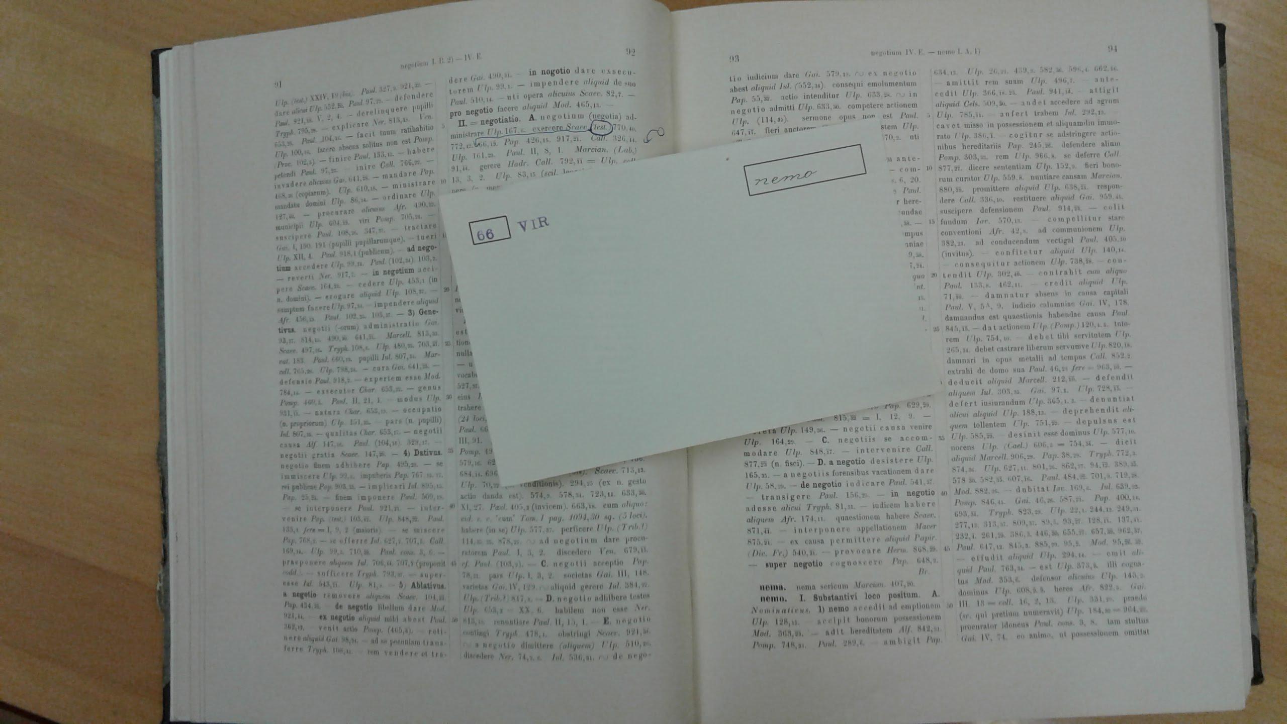 Wieviel Latein Ist überliefert Teil 1 Zettelmaterial Parerga